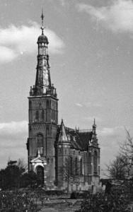 De adelskerk van Oud-Beets werd in 1984 gesloopt.