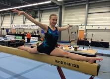 Jarl Zweers van Stânfries districtskampioen jongensturnen