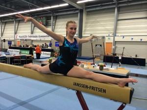 Larissa van der Woude.