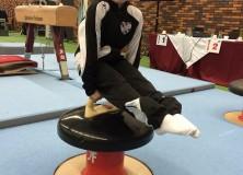 Jarl Zweers verdiend vierde op NK turnen