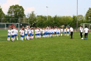 Drukke dagen voor jonge voetballers in Gorredijk. (c) Jan Sybrandy