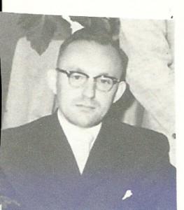 Secretaris en keeper Jappie Bijlsma