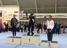 Mathijs Grijze Nederlands Kampioen turnen