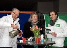 Pop-up politiek café geopend in Gorredijk