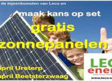 Informatieavond LECO: Opsterland energie neutraal