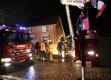 Schoorsteenbrand aan Nieuwstraat in Gorredijk