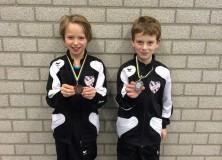 Vijf medailles voor Stânfries jongens in Stiens