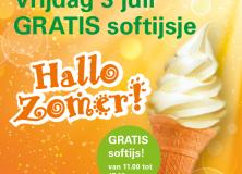 Tankstation Moll Gorredijk deelt vandaag gratis ijs uit