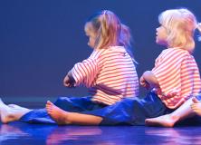 Dansles voor peuters bij Eijer Producties Gorredijk