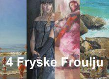 '4 Fryske Froulju' exposeren in Museum Opsterlân