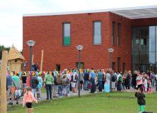 Eerste schooldag in nagelnieuwe brede school
