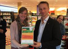 Fairtrade certificaat voor Bibliotheek Gorredijk